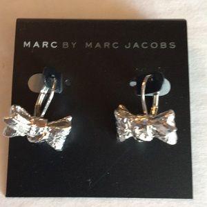 MARC BY MARC JACOBS BOW DROP EARRINGS